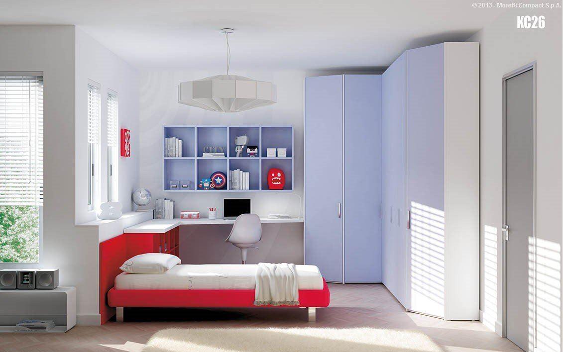 camerette moretti compact - casa arredi di bonari - Casa Arredo Grosseto